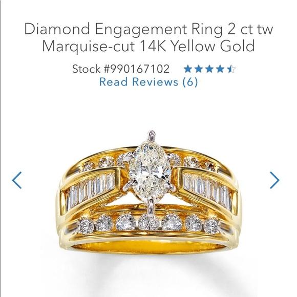 9bc1ed224 Kay Jewelers Jewelry | 14k Gold Engagement Diamond Ring 2ct Diamonds ...